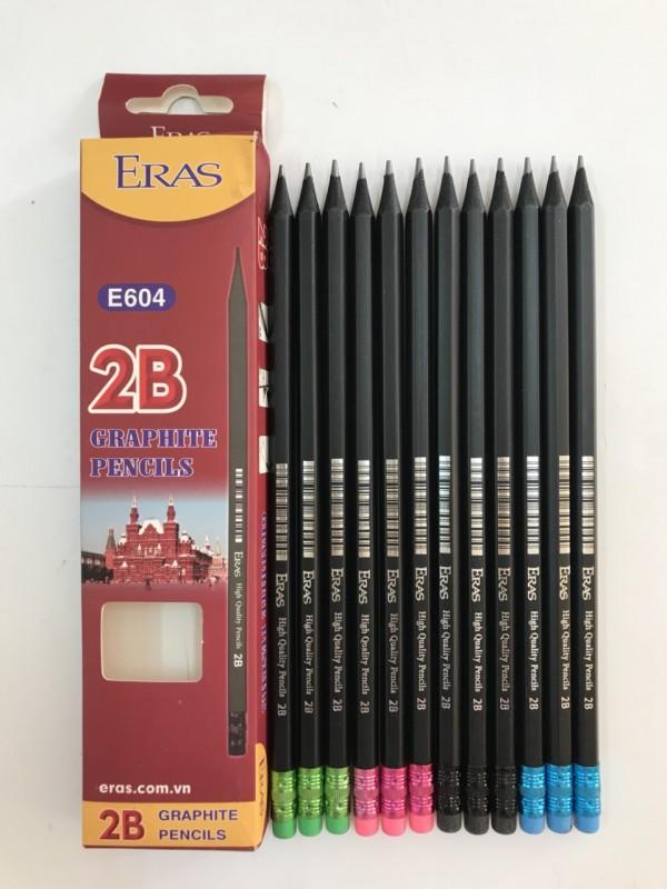 Chì đen 2B có tẩy E604