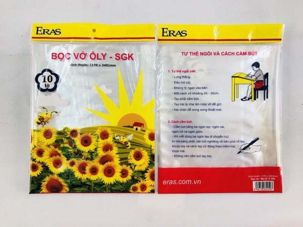Bọc SGK và vở dạng tệp E450